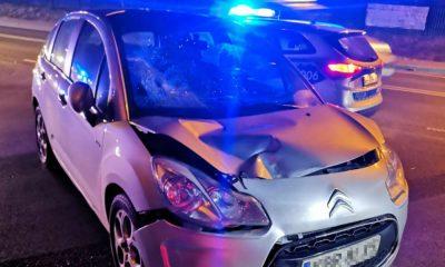 Kobieta kierująca citroenem wjechała w 13-latka na przejściu dla pieszych w Niepołomicach Fot. Policja