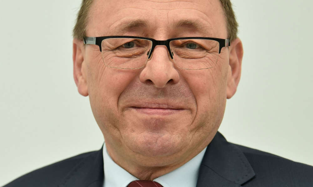 Poseł mniejszości niemieckiej Ryszard Galla Fot. Adrian Grycuk/CC BY 3.0
