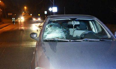 Kierowca opla wjechał w 15-latkę przechodzącą przez przejście dla pieszych w Limanowej. Dziewczynka została ranna Fot. Policja
