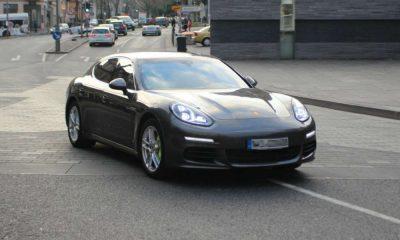 Porsche panamera - taki model samochodu brał udział w wypadku w Bujnach Fot. CC0