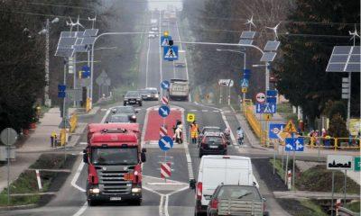 Przejście dla pieszych na drodze krajowej. Fot. GDDKiA