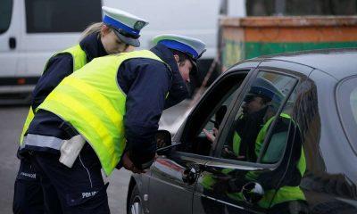 Kontrola policyjna. Fot. Wielkopolska Policja