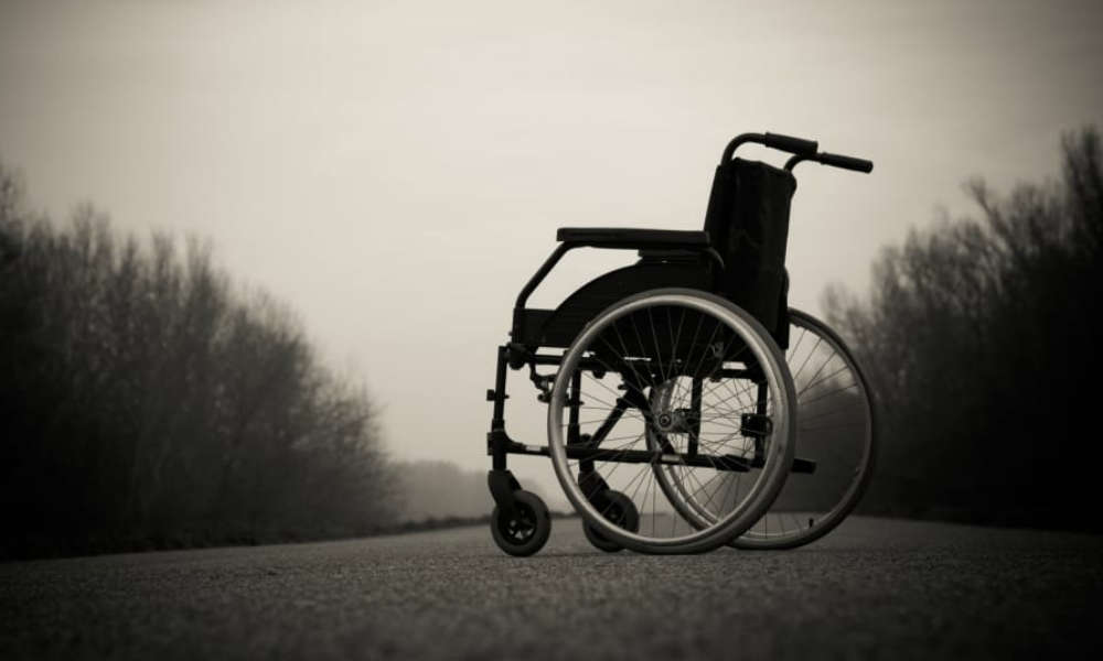 Wózek inwalidzki Fot. CC0