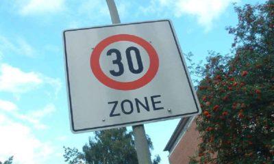 Znak Strefa Tempo 30 Fot. Manfred Sauke/CC ASA 3.0