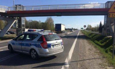 Śmiertelny wypadek z rowerzystą w Dębicy. Fot. Policja