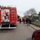 Pijany kierowca potrącił dzieci w Ziomakach Źródło: OSP Mokobody