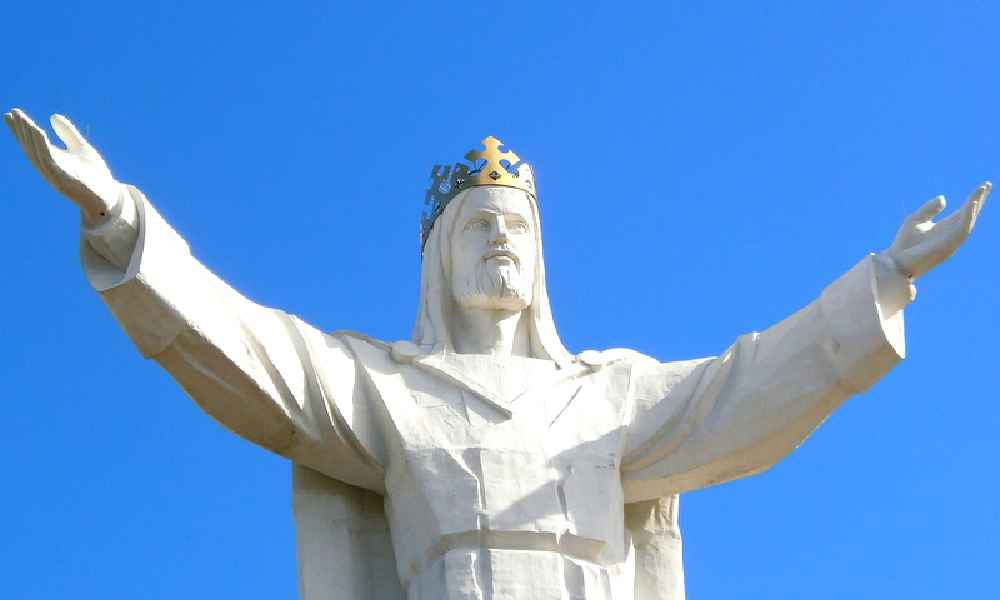 Figura Chrystusa w Świebodzinie ma 36 m wysokości Fot. Aw58/CC BY 3.0