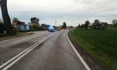 Wypadek w Stopce koło Koronowa. Źródło: Facebook/OSP Gościeradz