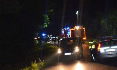 Pijany kierowca wjechał w dwie 14-latki w Porażu. Jedna dziewczynka nie przeżyła wypadku. Fot. Policja