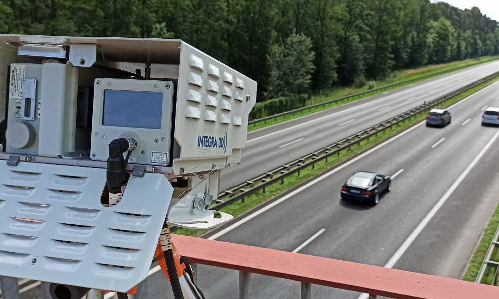 Pomiary radarem INTEGRA na drodze ekspresowej S11 w Wielkopolsce Fot. archiwum