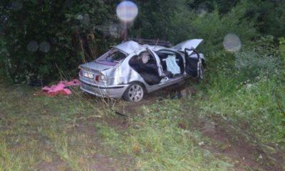 17-latek zginął w wypadku, gdy uciekał przed patrolem policji. Bał się, bo nie miał prawa jazdy. Groziłoby mu za to 500 zł mandatu Fot. Policja