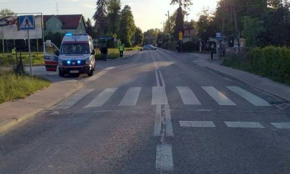 27-letni motocyklista zabił 64-letnią pieszą na pasach w Bychawie Fot. Policja