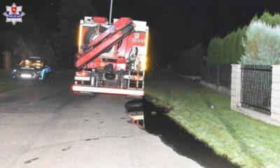 22-latek jechał pijany i zabił 13-letniego chłopca idącego poboczem Fot. Policja
