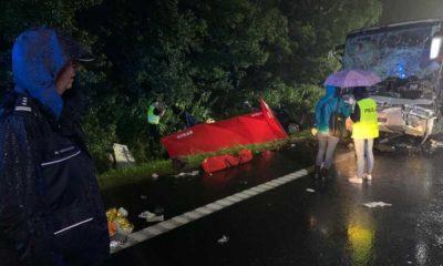 W wypadku na Śląsku zginęło 9 osób. Fot. Policja