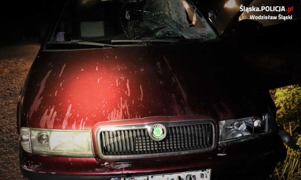 Pijany 19-latek w Godowie wjechał w 15-letnią dziewczynę na chodniku i uciekł. Został zatrzymany Fot. Policja