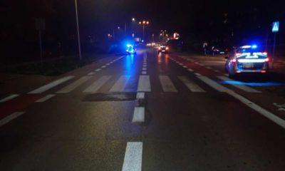 Na tym przejściu dla pieszych pod kołami BMW zginęła 51-letnia kobieta Fot. Policja