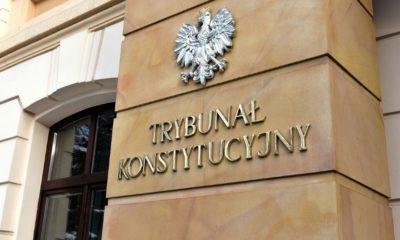 Trybunał Konstytucyjny, wejście do siedziby Fot. Anna Grycuk/CC BY 3.0