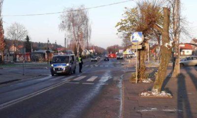 Do potrącenia doszło na przejściu dla pieszych w Dąbrowie Białostockiej Fot. KPP Sokółka