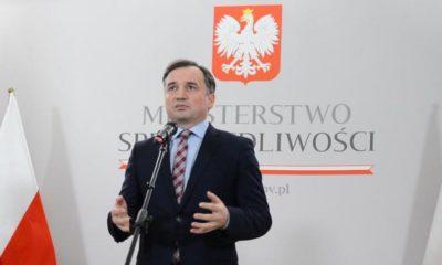 Zbigniew Ziobro, minister sprawiedliwości Źródło: MS