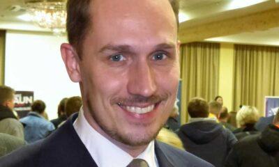 Konrad Berkowicz, jeden z liderów Konfederacji zagłosował za zmianami m.in. poszerzającymi ochronę pieszych na przejściach Fot. Jarosław Roland Kruk / Wikipedia, licencja: CC-BY-SA-3.0