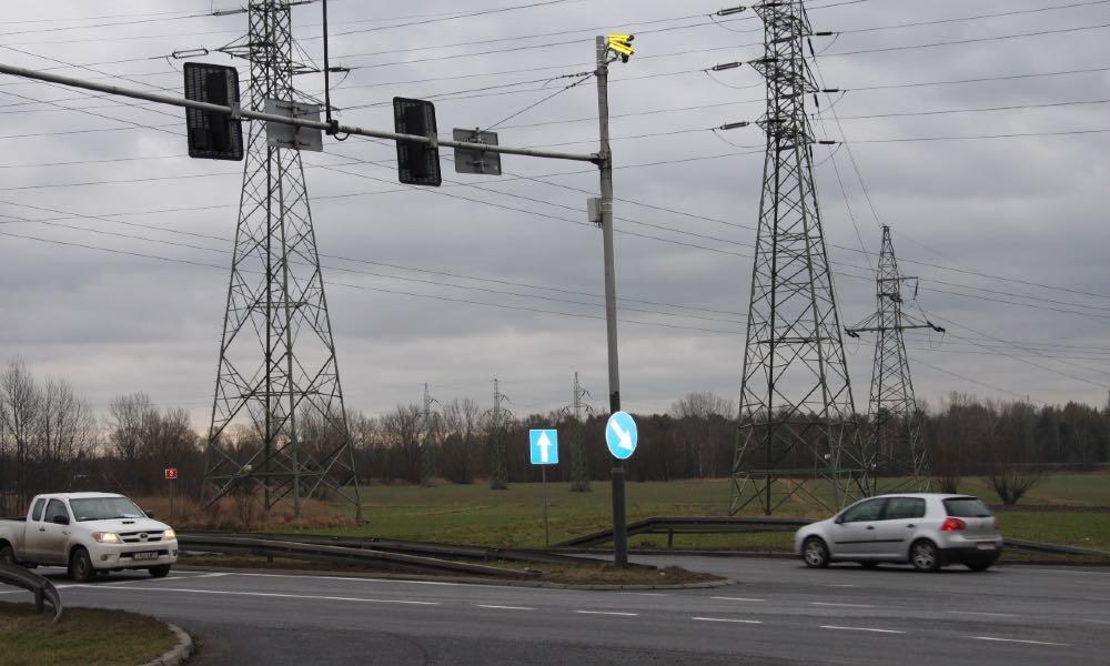 Rejestrator przejazdu na czerwonym świetle Fot. ITD