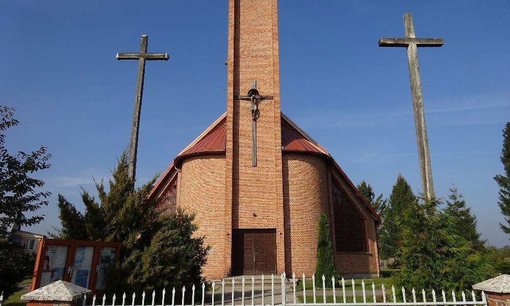 Kościół w Krysiakach. Fot. Sylwester Górski/CC-BY-4.0