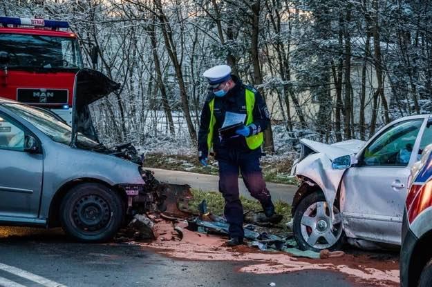 33-latek spowodował wypadek, w którym zginęło 11-miesięczne dziecko Fot. Policja