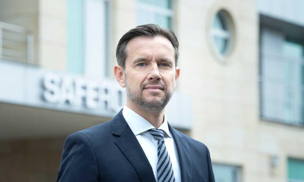 Grzegorz Bagiński, dyrektor generalny Saferoad w Polsce Fot. Saferoad
