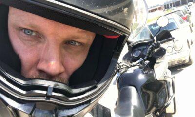 Sam oczywiście też jeżdżę w kasku. Zawsze, gdy jadę motocyklem Fot. brd24.pl