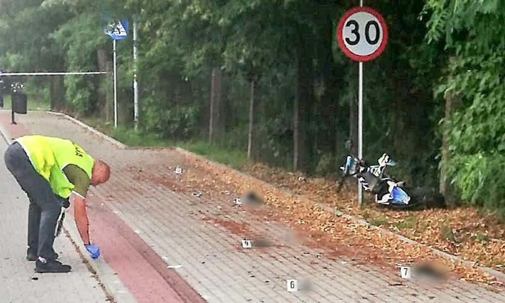 Kierowca busa zabił 16-latka na drodze w Drezdenku Fot. Policja