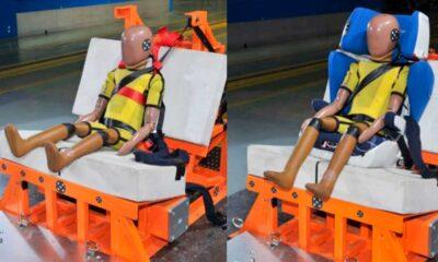 Smart Kid Belt i fotelik samochodowy podczas testów