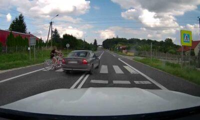 18-letni kierowca prawie zabił dziewczynki na przejściu dla pieszych Fot. Policja
