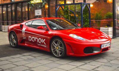 """Ferrari F430 - taki """"extremalny"""" samochód niebawem będzie można wypożyczać na minuty w Polsce w firmie Panek Fot. Panek"""