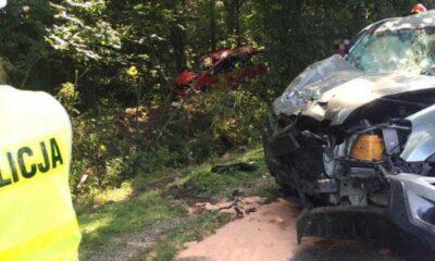 Matka samotnie wychowująca czwórkę dzieci zginęła w wypadu jako pasażerka pijanego kierowcy Fot. Policja