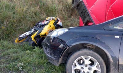Pijany kierowca zabił motocyklistę Fot. KP PSP Jarosław