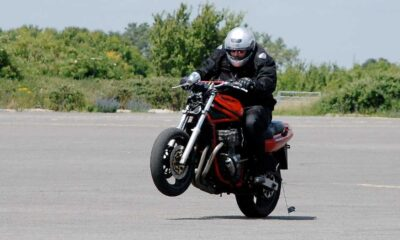 Motocyklista Fot. Flickr/rickdom/CC BY 2.0