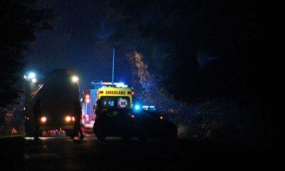 Kierowca ścigany przez policję w Tychach wypadł z drogi i uderzył w drzewo. Zabił pasażera Fot. Policja